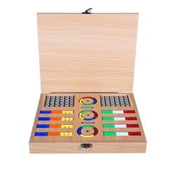 بسته چوبی مگنت خمیده 120 قطعه
