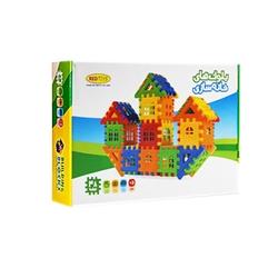 بازی ساختنی بلوک خانه سازی 48 قطعه