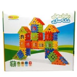بازی ساختنی بلوک خانه سازی 72 قطعه